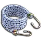 HOMEBAY Long Bungee Cord with Galvanized Steel Hooks