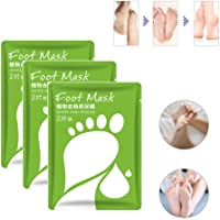 3 packs Baby Skin Ultimate Foot Peeling Mask,Exfoliating Mask for Baby Soft Feet Moisturizes (Exfoliating)
