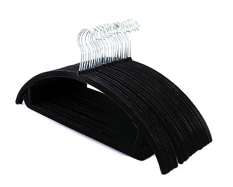Amazon.com: Perchas para ropa de terciopelo – Mejor que el ...