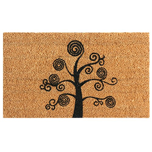"Rubber-Cal Deciduous Tree"" Modern Door Mat, 24 x 57"""