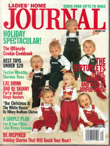 Ladies Home Journal Magazine, Lot of 7 Issues McCaughey Septuplets (1998-2006)