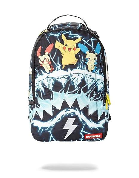 SPRAYGROUND Pokemon Pikachu Electric Shark Mochila: Amazon ...