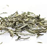 Tealyra - Luxury Young White Tea - Bai Hao Yinzhen - Silver Needle Tea - Organically Grown in Fujian China - Superior Chinese White Tea - Loose Leaf Tea - Caffeine Level Low - Organic (4oz / 110g)