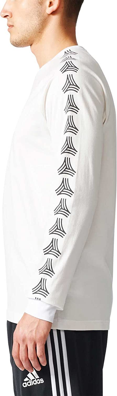 65f88fd1 Adidas Men's Tango Cage Long Sleeve T-Shirt (White, XXL): Amazon.co.uk:  Sports & Outdoors