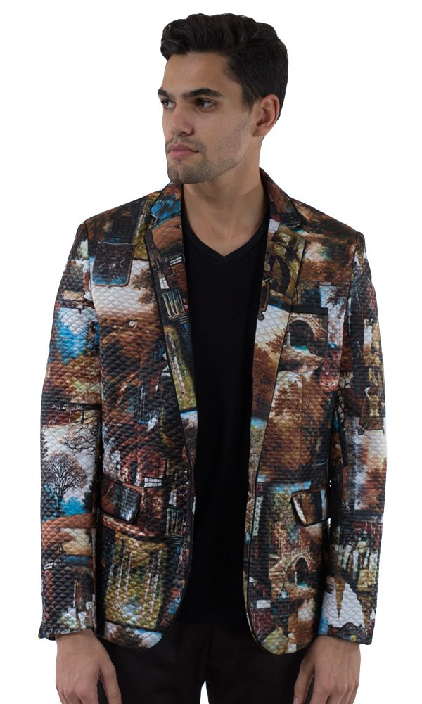 Barabas Men's ''Valley'' Blazer Jacket Small