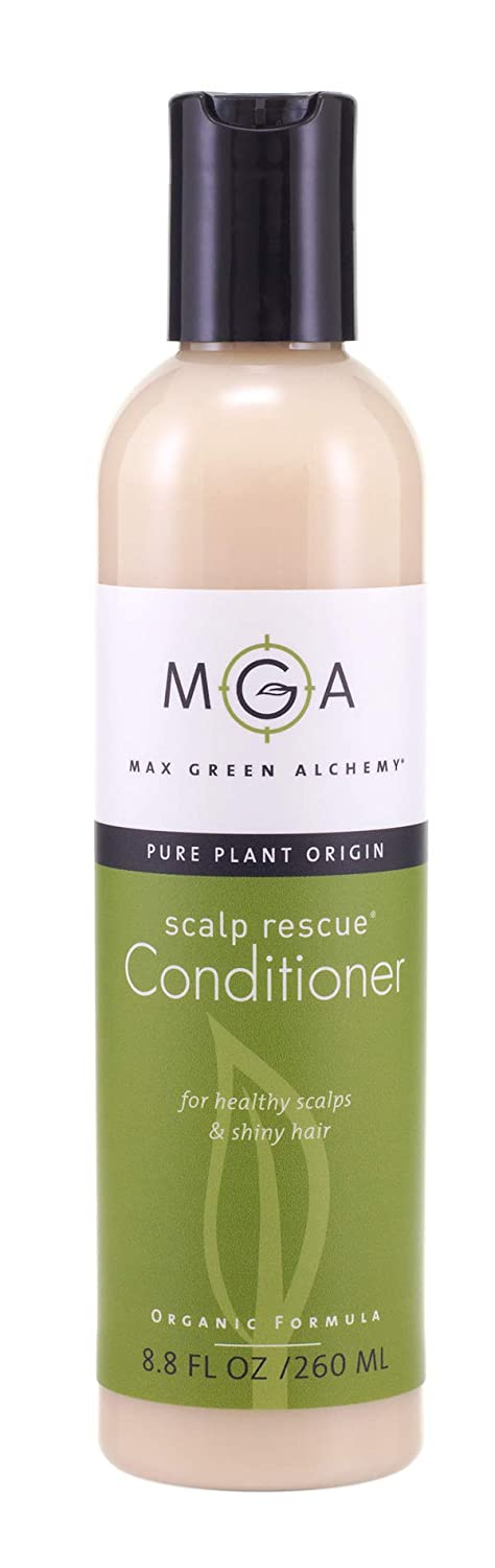 Scalp Rescue Conditioner, 8.8 fl oz, with Tea Tree For Healthy & Lustrous Hair. Reduces Itchy Scalp, Dandruff & Frizz. No Parabens, Sulfates, PEG or Silicone. Natural Herbal Scent For All Hair Types