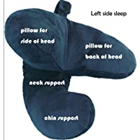Travel Pillow Neck Flight J Shape Head Chin Support