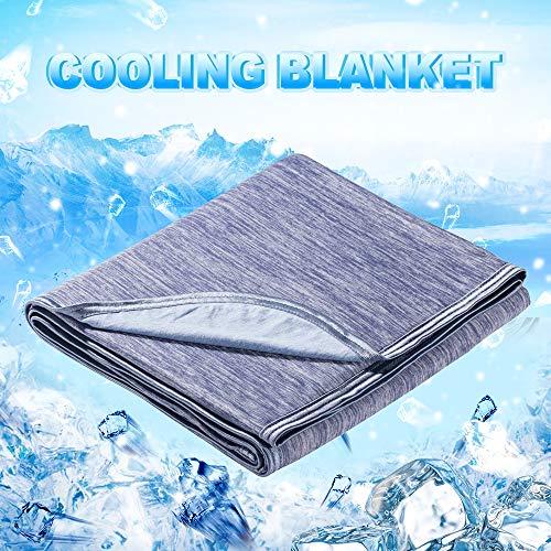 LUXEAR Cooling Blanket 59' X 79' Queen Sized Blanket, Japanese Q-Max 0.4 Mica...