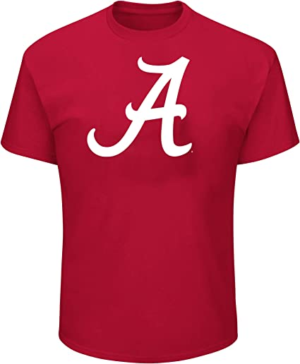Arch Heather Grey NCAA Mens Big and Tall Short Sleeve Cotton Tee Shirt