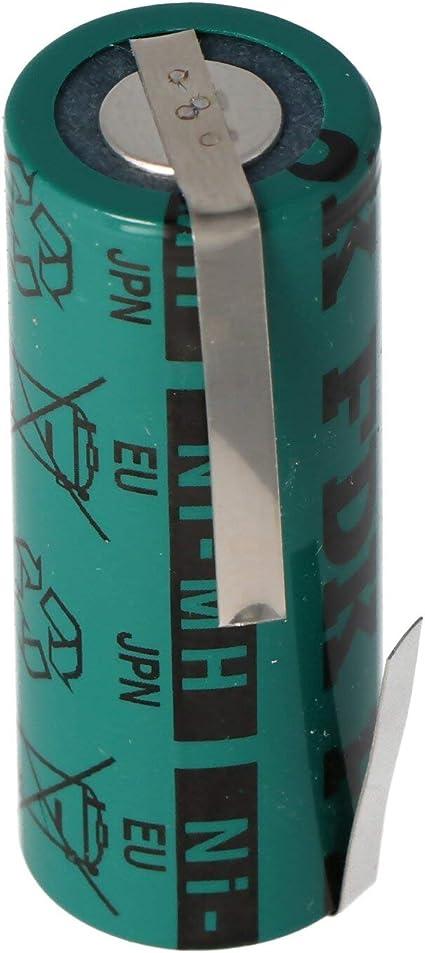 AccuCell 31032 - Batería (NiMH, 2150 mAh, 4/5 A, 43 x 17 mm, Compatible con Braun Oral-B Triumph): Amazon.es: Electrónica