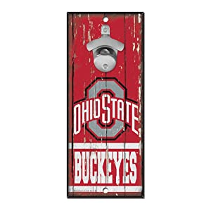 CLG Wood Sign Bottle Opener CLG: Ohio State