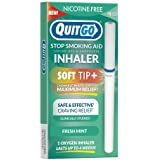 Quit Smoking Aid Oxygen Inhaler + Soft Tip Chewable Filter to Help Curb Cravings, Nicotine Free Non-Addictive Stop…