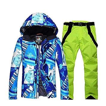 Z&X Conjunto de Chaqueta de esquí para Hombre, Ropa de esquí ...