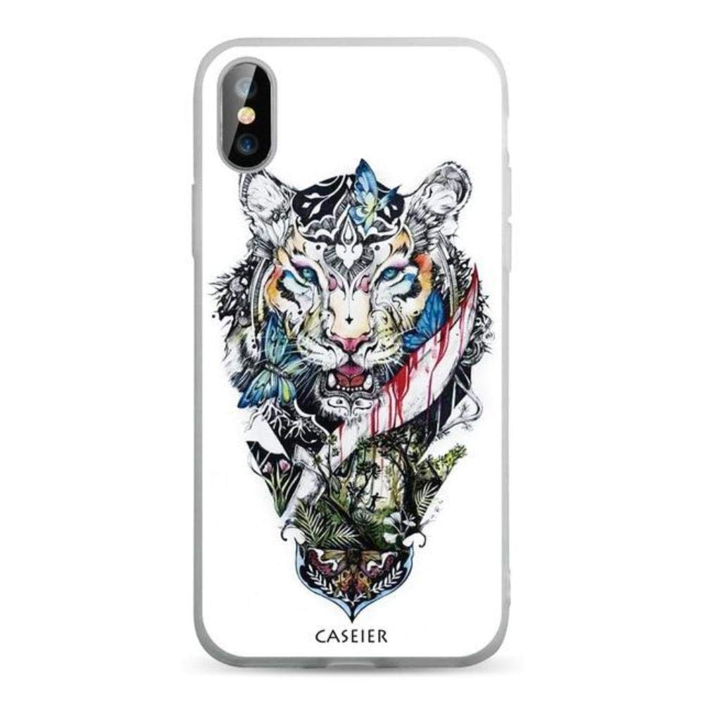 Amazon.com: CASEIER Tattoo Phone Cases for iPhone 8 7 6S 6 ...