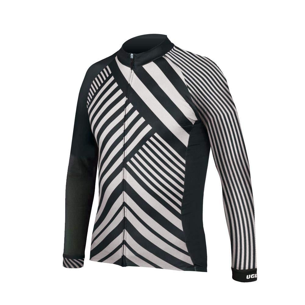 Uglyfrog Bike Wear Radsport Bekleidung Herren Herbst Style Long Sleeve Trikots & Shirts Fahrradtrikot Langarm Frühling Atmungsaktiv