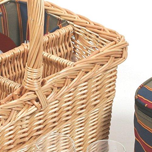 Grünfield Collection (H006) Luxuriöser Picknickkorb Kensington Kensington Kensington B002WI77YK Krbe & Koffer c88f84