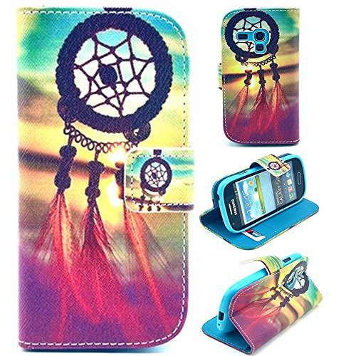S3 mini case,s3 mini leather case,s3 mini leather wallet case,Cute picture flip leather case cover for samsung galaxy s3 mini i8190 by Canica 001 (Leather Samsung S3 Mini compare prices)