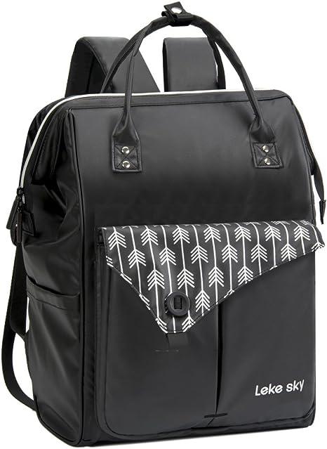 black designer laptop bag