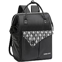 Lekesky Laptop Backpack 15.6 Anti-theft Women's Rucksack Ladies Casual Daypack Waterproof, Black