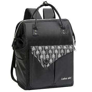 31e1ab0d280d Lekesky Laptop Backpack 15.6 Anti-theft Women's: Amazon.co.uk: Electronics