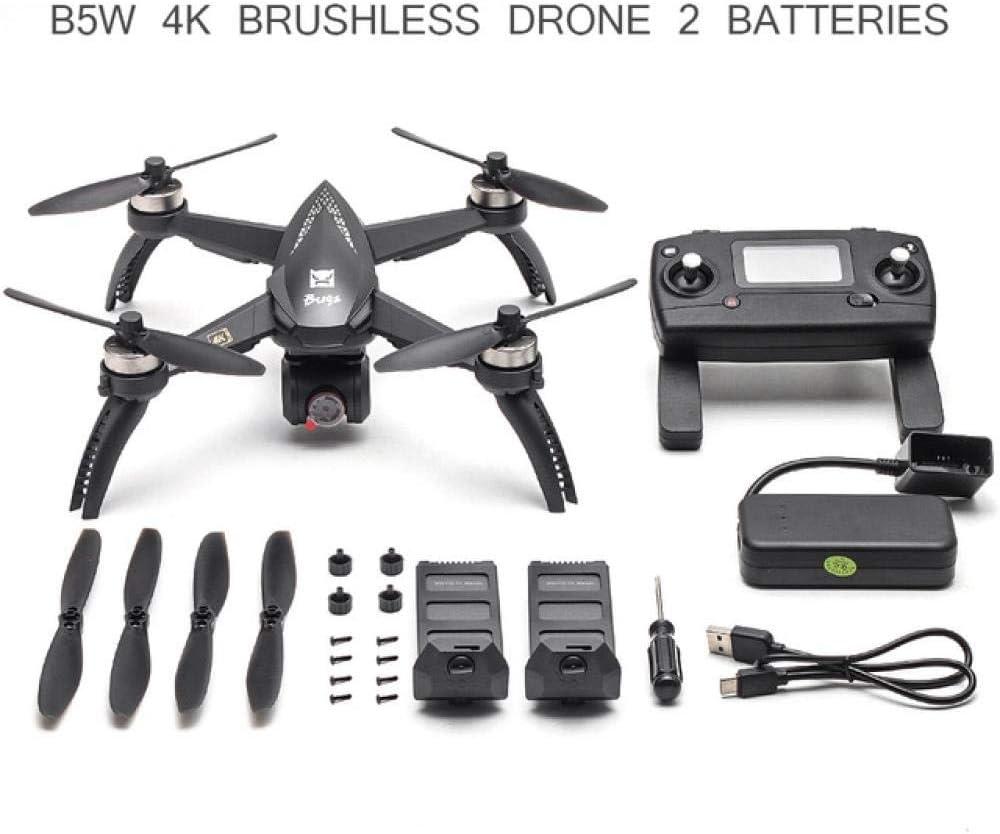 B5Wカメラ4K HD 5G Wifiジェスチャー写真付きブラシレスRCドローンVS H501SプロMJX B4W、4Kデュアルパワーエディション搭載プロフェッショナル RCクワッドコプター