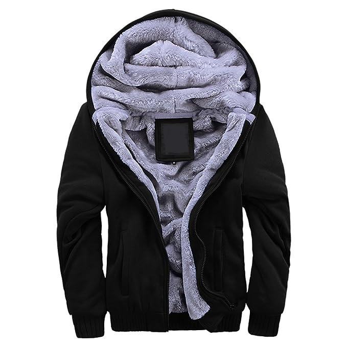 Warm fleece hoodie