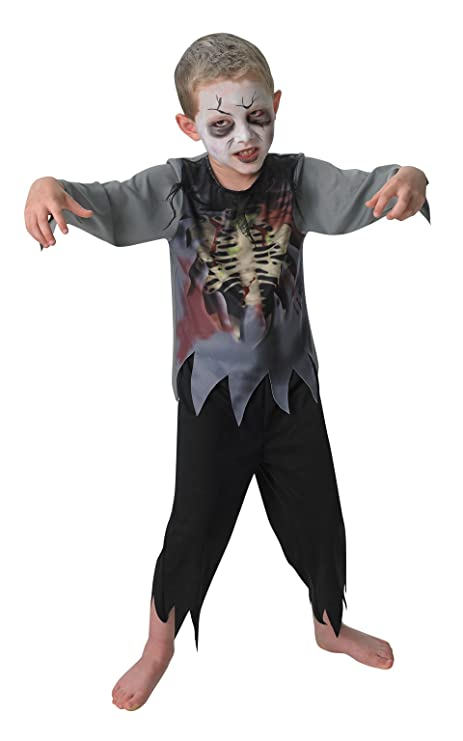 Rubie s costume zombie boy ufficiale per bambini - medio ... 799a4cb45b8