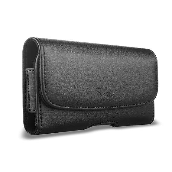 new concept e91bd 6a602 Amazon.com: ZTE Blade Vantage Case; By TMAN Leather Case with ...