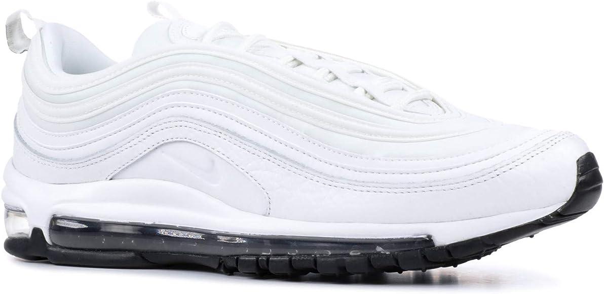 Nike W Air MAX 97 Lea, Zapatillas de Gimnasia para Mujer, Blanco ...