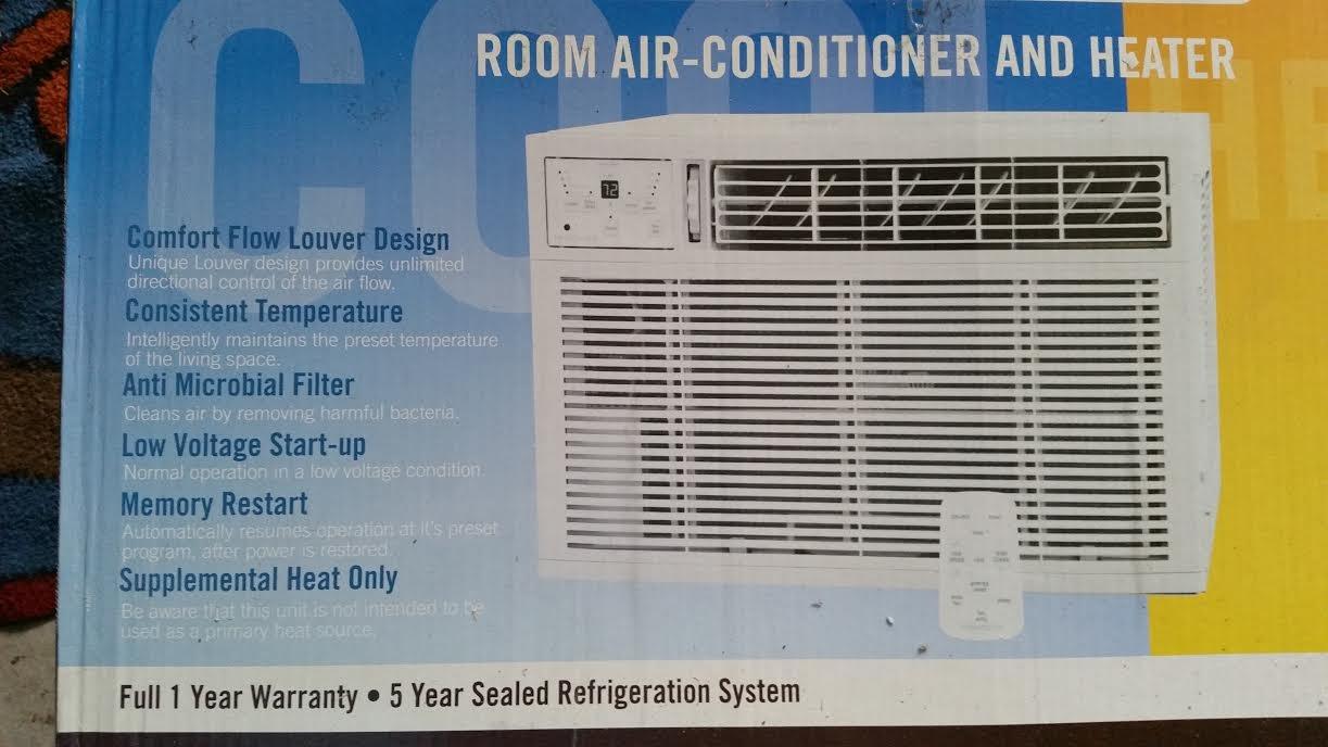 Amazon.com: Frigidaire 12,000 BTU Heat/Cool Window AC w/ Electronic ...