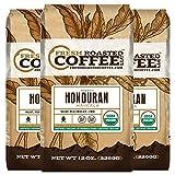 honduran coffee - Organic Honduran Marcala Fair Trade Coffee, 12 oz. Ground Bags, Fresh Roasted Coffee LLC. (3 Pack)