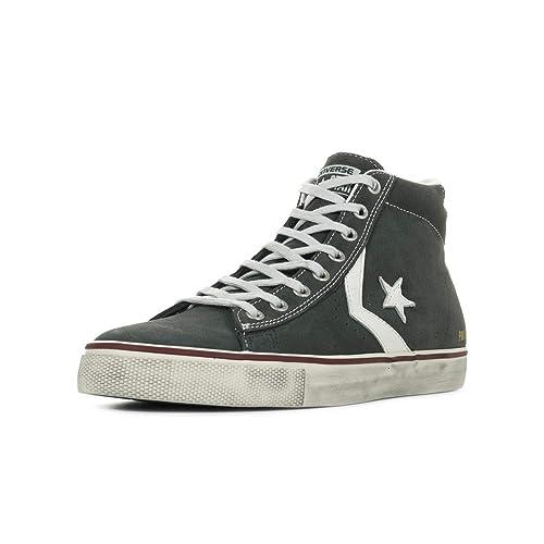 Converse Lifestyle Pro Leather Vulc Distressed Mid, Zapatillas Unisex Niños: MainApps: Amazon.es: Zapatos y complementos