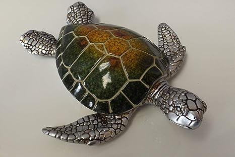 Casablanca Schildkröte Josie 79404 grün gelb Silber Maritime ...