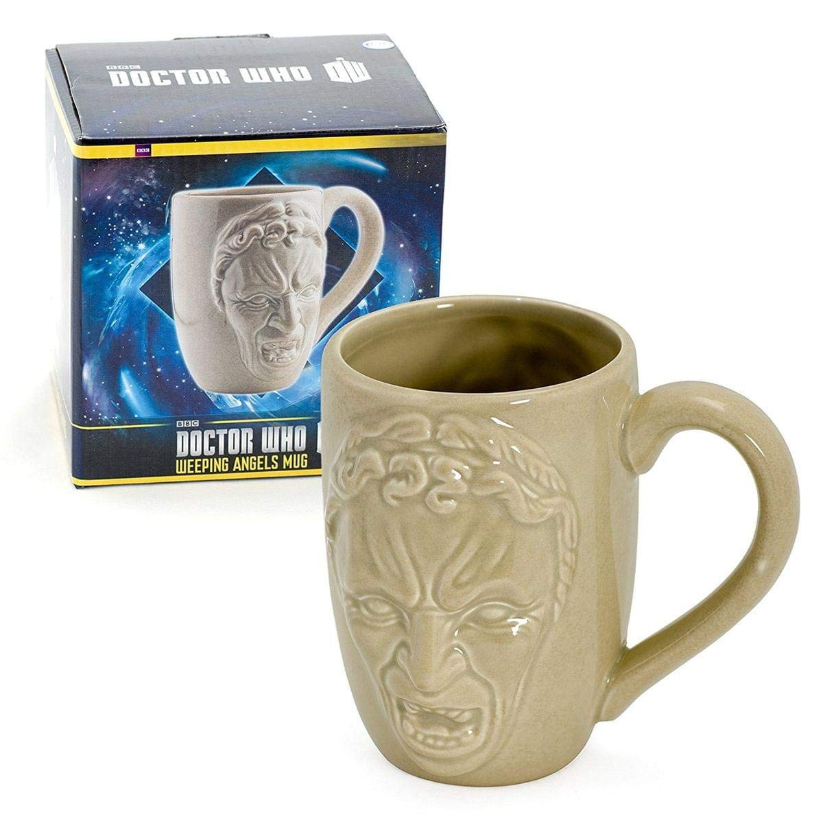 Doctor Who Mug - Dr Who Weeping Angels Coffee Cup - 12 oz by Underground Toys