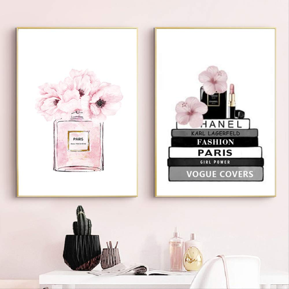Coco Woman Inspirational Quote Poster Art Print A3 A4 A5 A6 Decor Gift Vogue Her