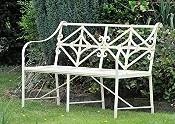 Admirable Black Country Metal Works The Cradley Deluxe Iron Bench Dailytribune Chair Design For Home Dailytribuneorg
