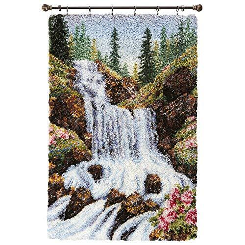Herrschners Springtime Waterfall Latch Hook Kit
