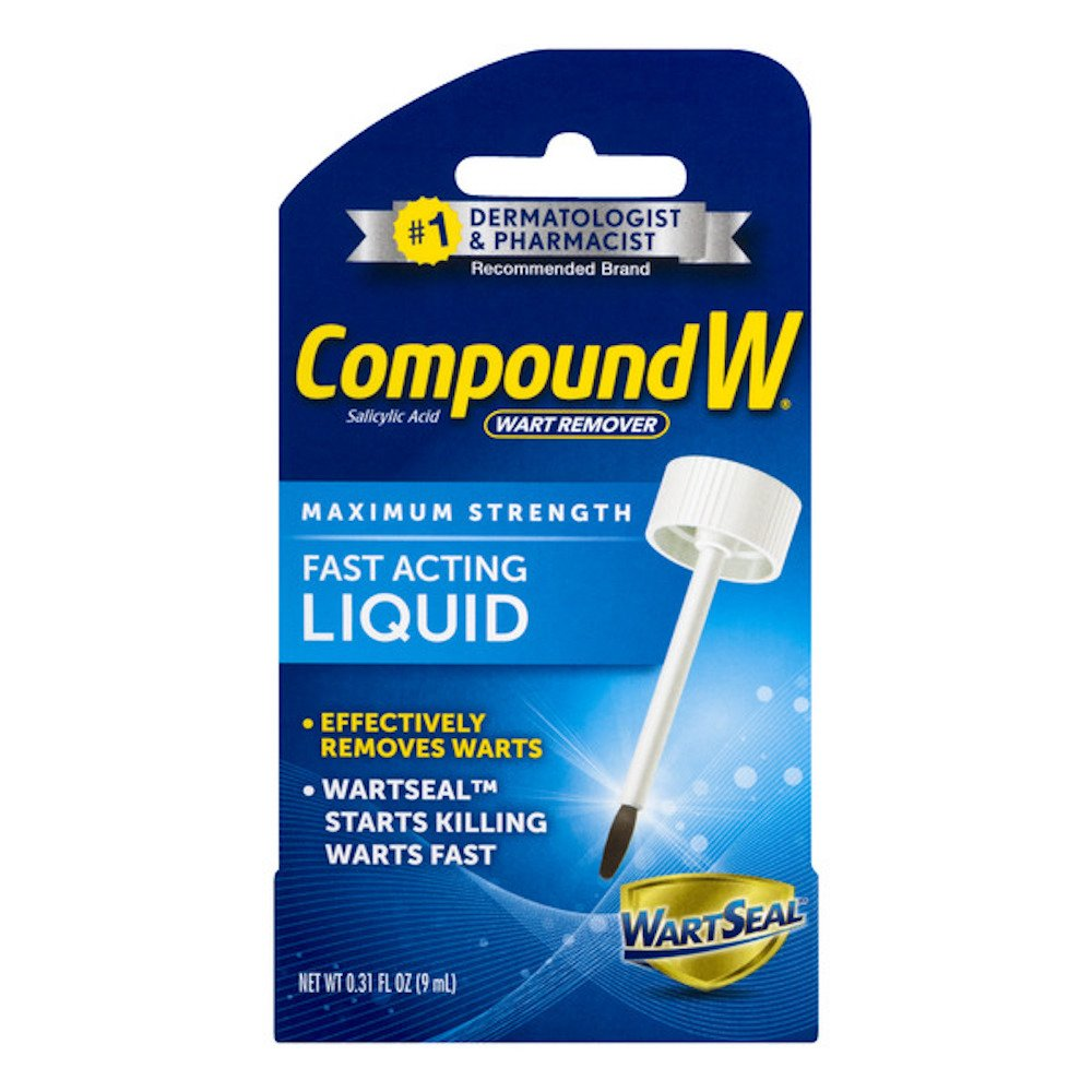 amazon com compound w fast acting wart removal liquid with brush