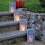 LumaBase 50912 12 Count Tombstone Plastic Luminaria Bags