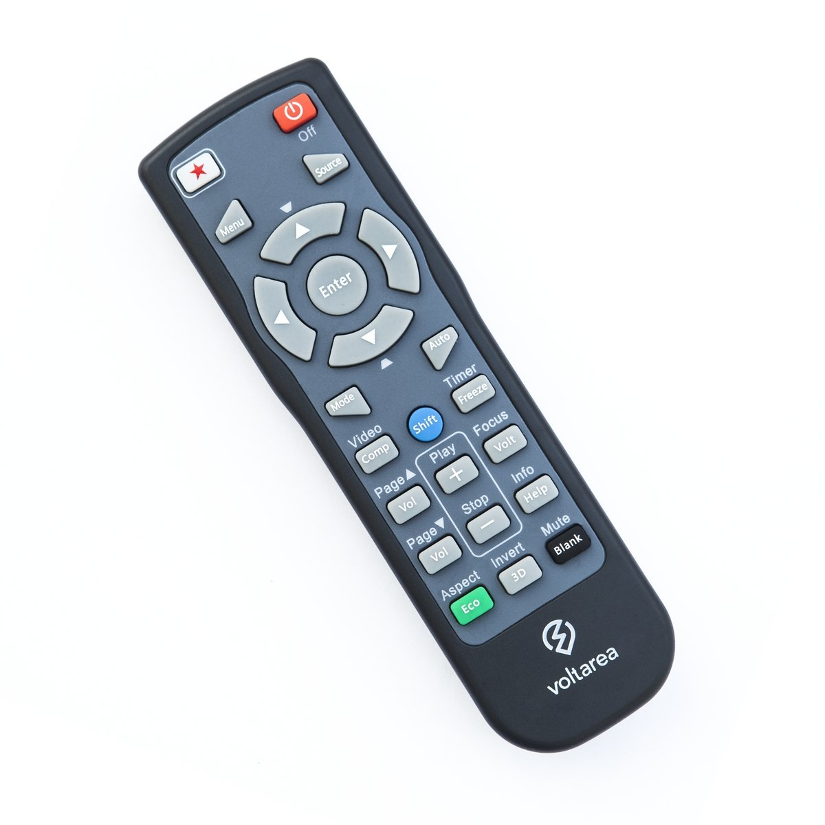 Remote Control for Sharp XR-11XC-L Projector with Laser Pointer