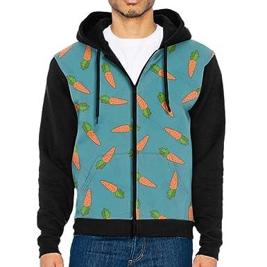 a9f36a3ce77 Khope Carrot Autumn Winter Fashion Pullover Harajuku Thicken Loose Men  Hoodies Sweatshirt Casual Coat