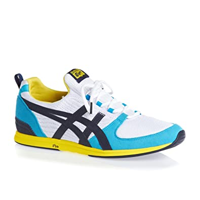 Onitsuka Tiger Ult Racer Sneaker White Navy, Bla: Amazon