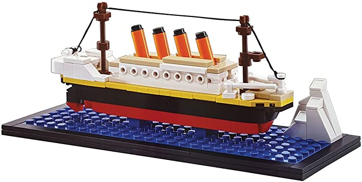 OXFORD TITANIC BUILDING BRICK MODEL BM3524
