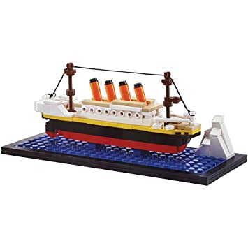 Oxford Mini Titanic Building Block Brick Kit Bm3524 Amazon
