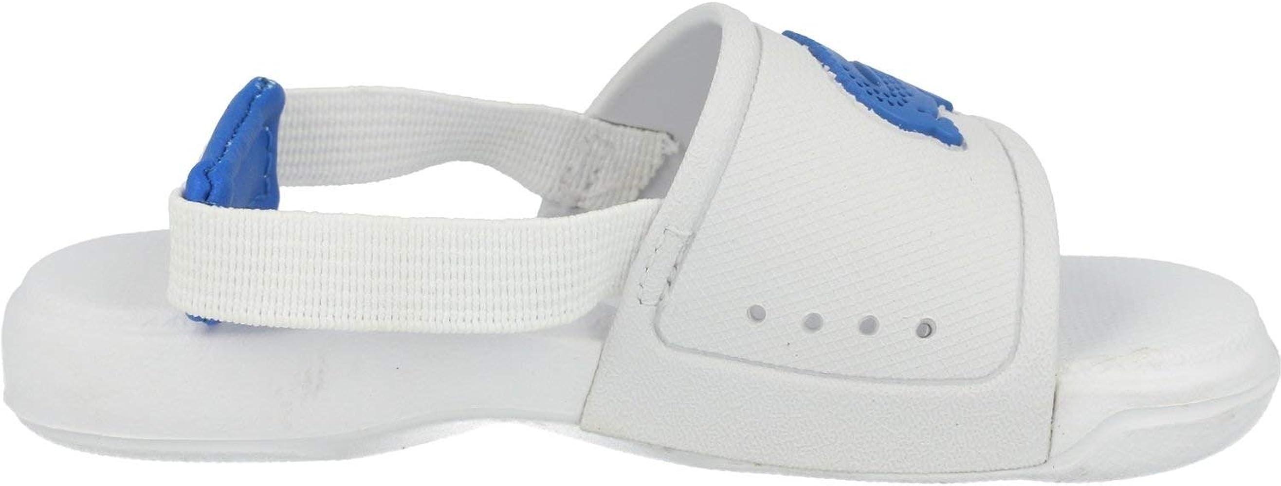 bleu Lacoste Juniors L30 Slide Tongs