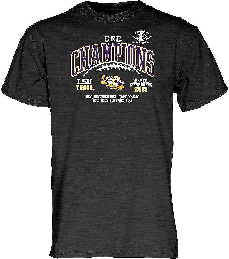 Elite Fan Shop 2019 NCAA Conference Champs T Shirt Laces Dark Heather