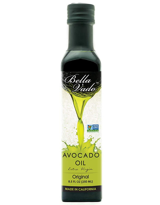 Bella Vado Premium Avocado Oil from California (Plain) | Pack of 6 by Bella Vado