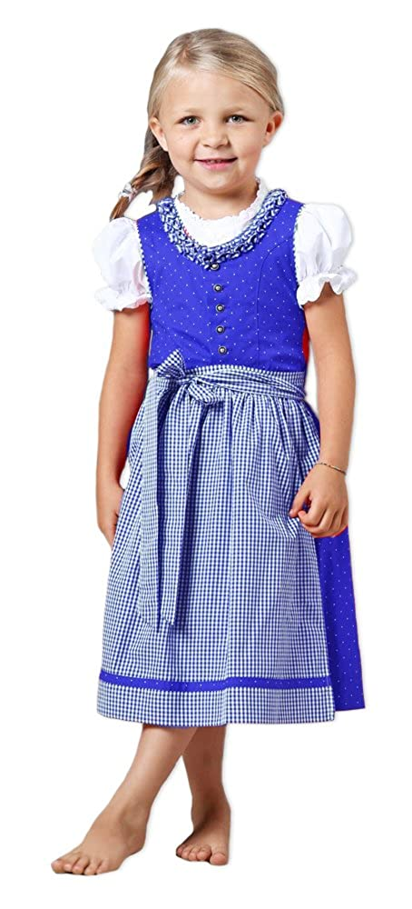 ISAR Infantil Tirolesa Klara 3 Piezas Azul - Marcas Vestido ...