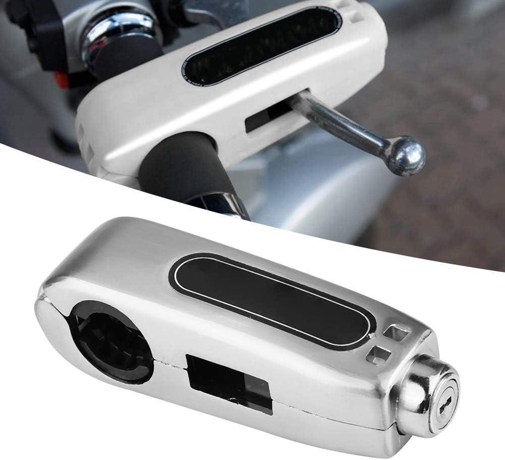 Gelb Universal Motorrad Lenker Bremshebelsperre Gasgriff Diebstahlsicherung Bremshebelsperre