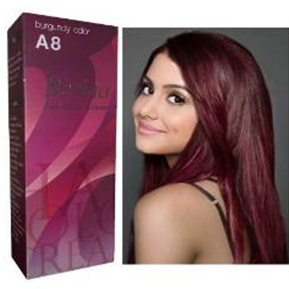 Amazon berina permanent hair dye color cream a8 burgundy amazon berina permanent hair dye color cream a8 burgundy made in thailand by sellgreat1449 home kitchen urmus Gallery